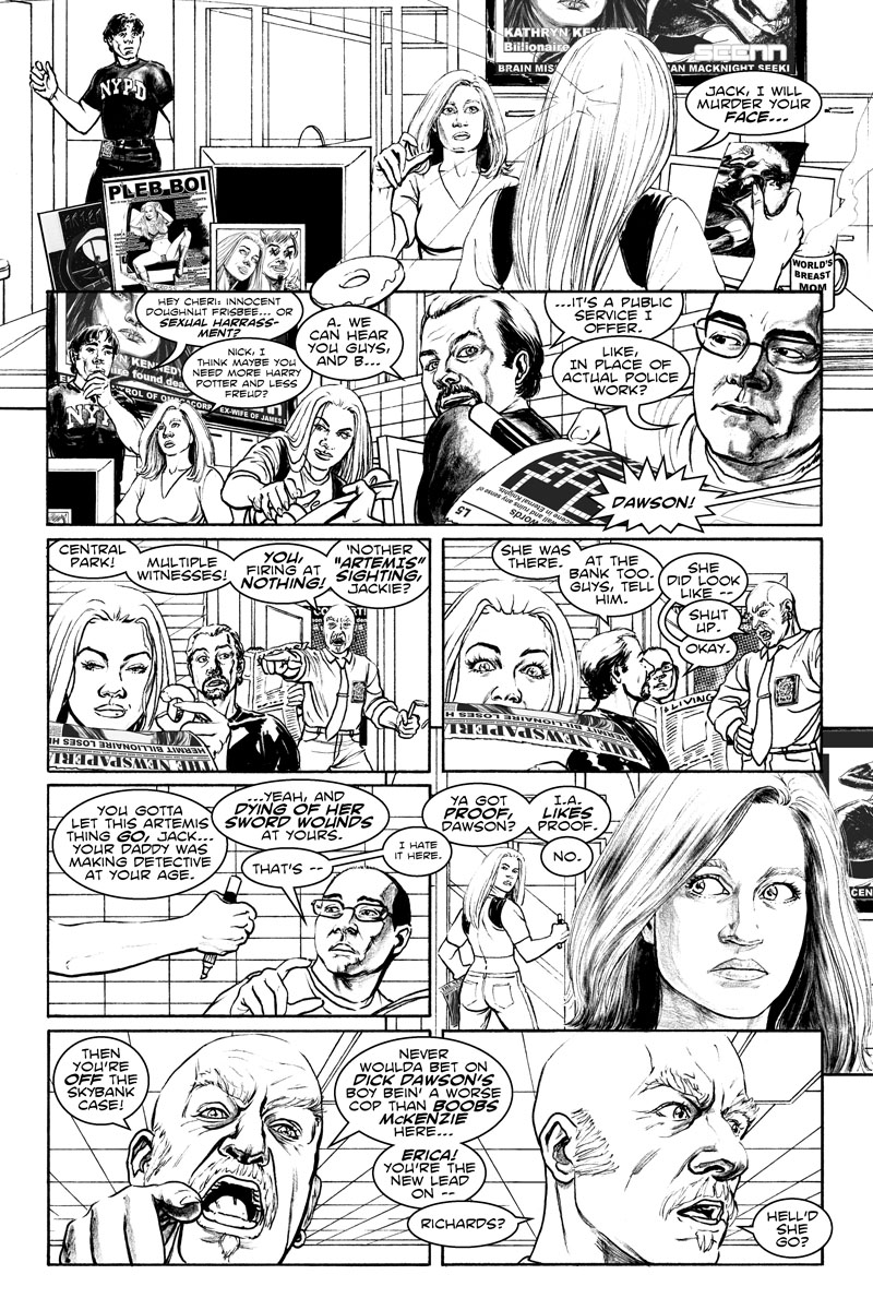 Issue 4, Page 8 - Doughnut Frisbee - Sexual Harrassment?