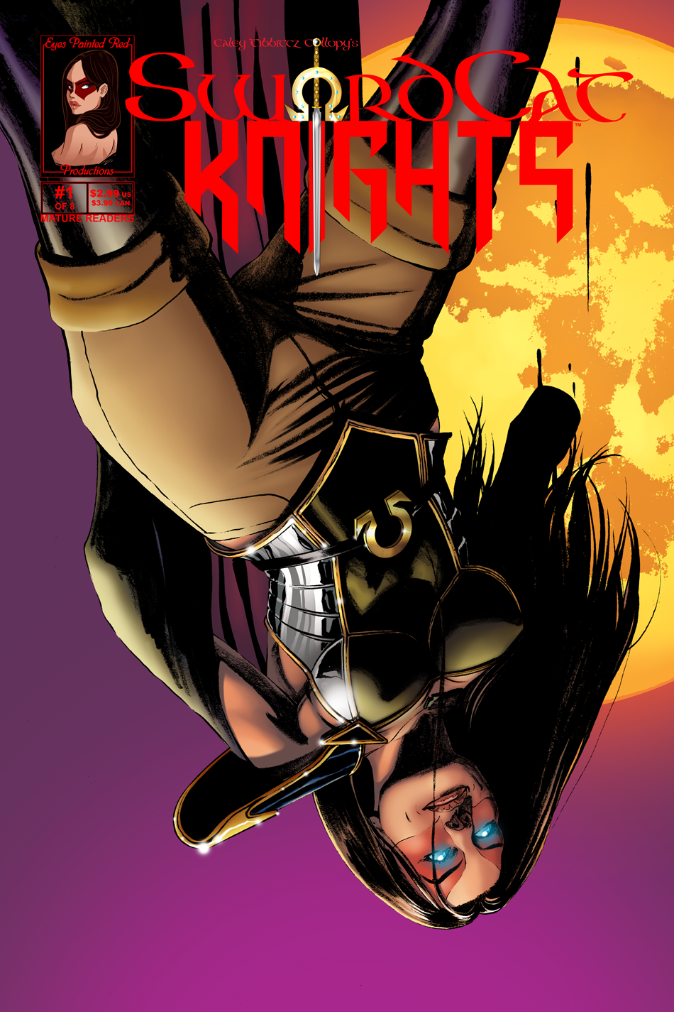 #1 Cover | Suicidal Immortal Superhero